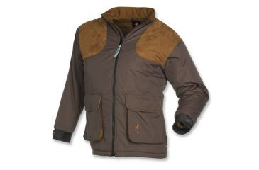 Browning Womens Ballistic Insulated Shooting Jacket, Charcoal/Brown, S 3040147901