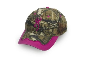 Browning Womens ISSI Cap, Mossy Oak Break-Up Infinity/Magenta 308135201