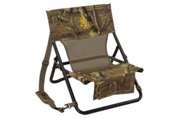 Browning Woodland Infinity Camo Chair, 19in. wide x 12in. deep x 21in. high 77317