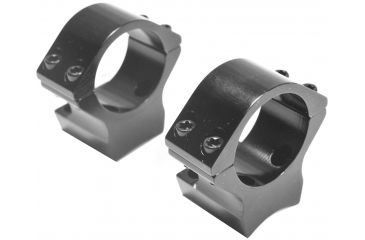 Browning X-Lock Integrated Scope Rings - 1in Gloss, .400in Standard Height 12504