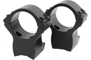Browning X-Lock Integrated Scope Mount Rings - 30mm Matte, .600in High 12512