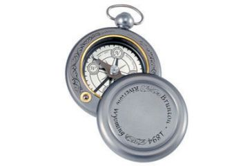 Brunton Gentleman's Pocket Compass, Engraved 1894DWB