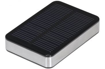 Brunton Ember Power Pack, 2800mAh rechargeable battery with solar panel, 3 in 1 USB Cable F-EMBER