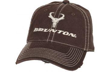 Brunton Joel Cap, Brown Easy Twill Cap w/ Contrast Stitching F-STITCHD