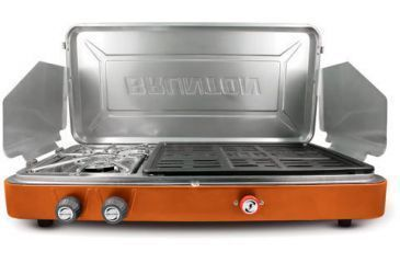 Brunton Profile Pro 2 Burner Stove w/grill surface
