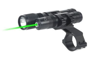 BSA Optics Stealth Tactical 532 Green Laser Sight and 140 Lumen Flashlight STSLLGCP