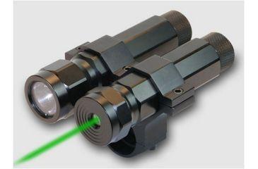 1-BSA Optics Varmint Hunter Pro LED Light & Green Laser LLSG