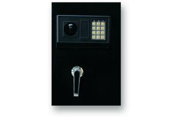 Bulldog Cases 57x20x16 Standard Floor Vault w/ Digital Lock - black