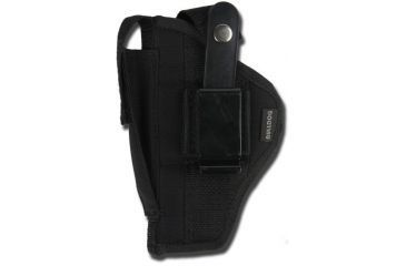 Bulldog Cases Belt & Clip Ambi Holster, Black - Ruger Mark Style Autos w/ 4 - 5in BBL FSN-34