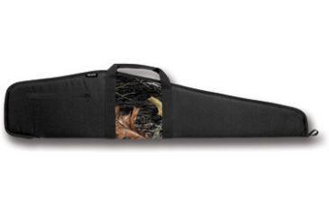 Bulldog Camo Panel Black with Camo Panel 48'' Rifle Case BD210