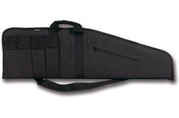 "Bulldog Extreme Black with Black Trim 40"" Tactical Case BD421"
