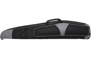Bulldog Hybrid ''Magnum'' Rifle Case 44'' Black w/ Silver Trim BD263-44