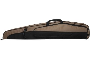 Bulldog Hybrid ''Magnum'' Rifle Case 48'' Brown w/ Tan Trim BD264