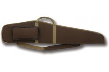 Bulldog Hybrid Rifle Case 44'' Brown w/ Tan Trim BD261-44