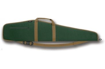 Bulldog Extreme Green with Tan Trim 44'' Rifle Case BD241-44