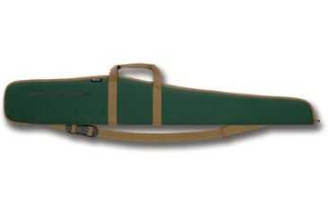 Bulldog Extreme Green with Tan Trim 52'' Shotgun Case BD281