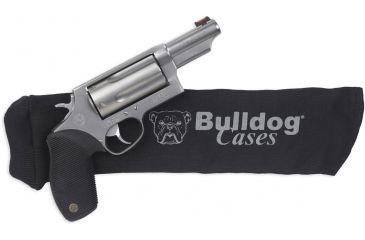 Bulldog Cases Handgun Sock 14in x 4in, Black BD150