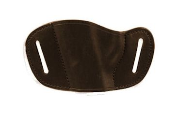 Bulldog Cases Medium- left hand tan molded leather belt slide holster Fits medium frame autos, 1911, Browning HP,Kahr P45 etc. MLTL-M