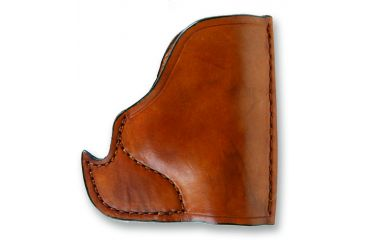 Bulldog Cases Molded Leather Inside-the-Pocket Holster - Small, Tan MLT-IP