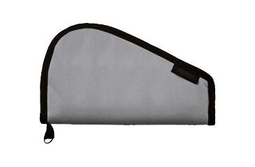 Bulldog Cases Pistol Rug, Gray, X-small - without handles BD609