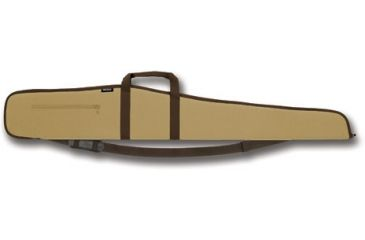 "1-Bulldog Extreme Tan with Brown Trim 52"" Shotgun Case BD282"