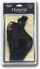 Bulldog Hybrid Ambidetrous Belt Clip Holster w/ Deluxe Packaging - Size: 15 BDH-15