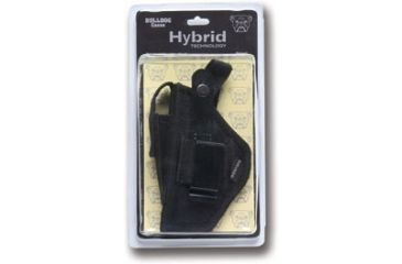 Bulldog Hybrid Ambidetrous Belt Clip Holster w/ Deluxe Packaging - Size: 24 BDH-24