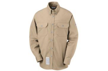 Bulwark Dress Uniform Shirt, EXCEL FR ComforTouch, 7 oz., Men, SLU2KH, LNL SLU2KHLNL