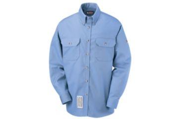 Bulwark Dress Uniform Shirt, EXCEL FR ComforTouch, 7 oz., Men, SLU2LB, LNL SLU2LBLNL