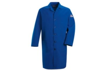 Bulwark Lab Coat, Nomex IIIA, ROYAL, RGL KNL2RBRGL