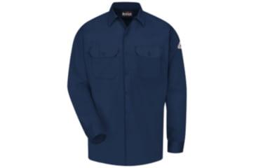 Bulwark Work Shirt, Excel FR ComforTouch, Men, SLW2NV, LNL SLW2NVLNL