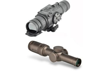 1-Armasight Apollo 336 Thermal Imaging Clip-On System, FLIR Tau 2 - 336x256 (17 micron), 50 mm Lens