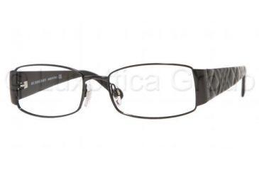 15a9b56c4572 Burberry BE 1064 Eyeglasses Styles Shiny Black Frame w Non-Rx 53 mm Diameter