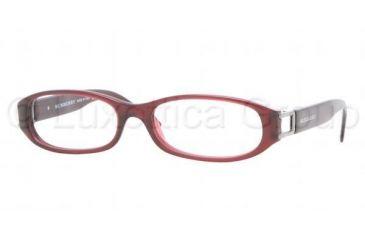 3ba4b75bbe Burberry BE2045 Progressive Eyeglasses Oxblood Frame   52 mm Prescription  Lenses