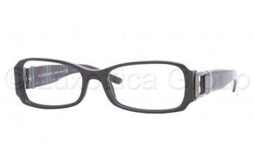 9f9cb27e5c Burberry BE2056 Bifocal Eyeglasses Black Frame   50 mm Prescription Lenses