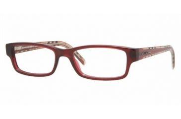 Burberry BE 2066 Eyeglasses w/ Okblood Frame w/Non-Rx 52 mm Diameter Lenses, 3178-5217