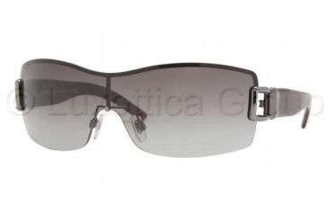 Burberry BE 3037 Sunglasses Styles Gunmetal Frame / Gray Gradient Lenses, 100311-0131