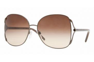 Burberry BE 3049 Sunglasses Styles - Dark Brown Frame / Brown Gradient Lenses, 103113-6016