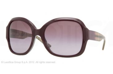 Burberry BE4058M Single Vision Prescription Sunglasses BE4058M-31388H-57 -