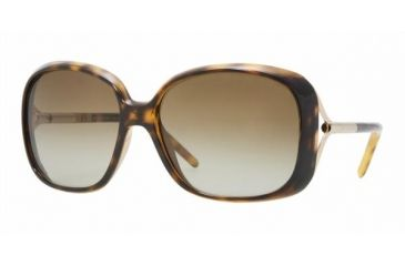 3ebdddf1ca5 Burberry BE 4068 Sunglasses Styles - Havana Frame   Brown Gradient Lenses