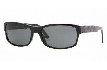 Burberry BE 4090 Sunglasses Styles - Black Gray Frame, 300187-5916