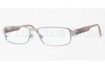 Burberry BE1195 Single Vision Prescription Eyewear 1003-5316 - Gunmetal