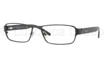 54b88262d1 Burberry BE1213 Progressive Prescription Eyeglasses 1001-5216 - Black Frame
