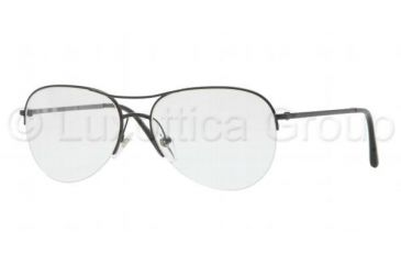 Burberry BE1225 Progressive Prescription Eyeglasses 1001-5516 - Black Frame