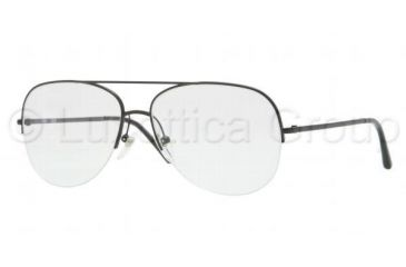 Burberry BE1226 Progressive Prescription Eyeglasses 1007-5515 - Matte Black Frame