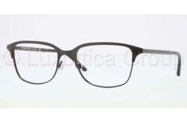Burberry BE1250 Single Vision Prescription Eyeglasses 1001-5418 - Black Frame