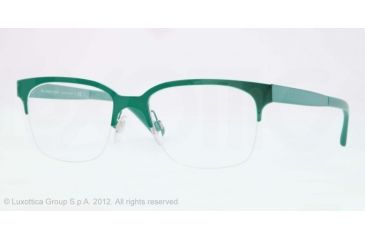Burberry BE1253 Bifocal Prescription Eyeglasses 1177-52 - Green Frame, Demo Lens Lenses