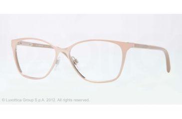 Burberry BE1255 Bifocal Prescription Eyeglasses 1188-53 - Pink Gold Frame, Demo Lens Lenses