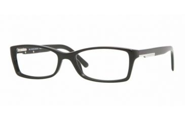 Burberry BE2076 #3001 - Shiny Black Demo Lens Frame