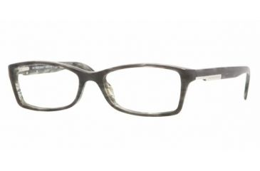 Burberry BE2076 #3143 - Striped Gray Demo Lens Frame
